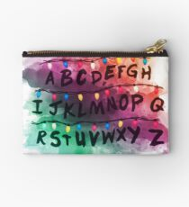 Stranger Things T Shirts Studio Pouch