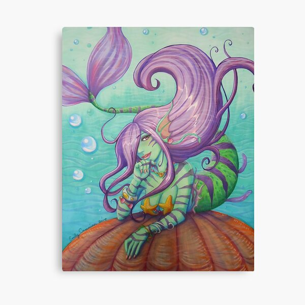 Maya the Mermaid Canvas Print