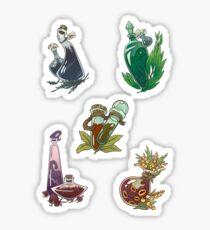 Magick potions Sticker