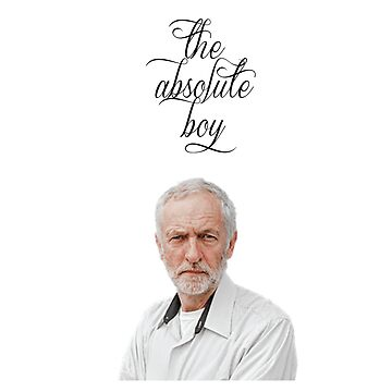 The Absolute Boy Jeremy Corbyn tshirt by codenoir