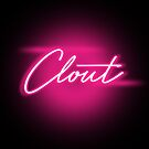 NEON Clout - Pink - Pussy - Pink - pum pum - Merry Valentines  by Wave Lords United