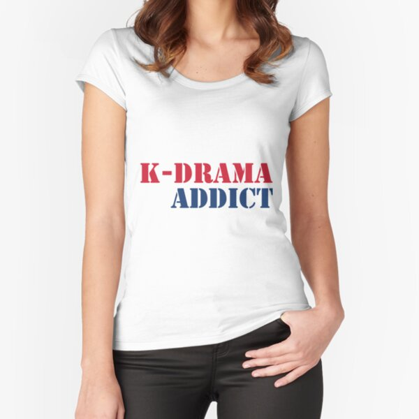 K-drama Addict 2 Fitted Scoop T-Shirt