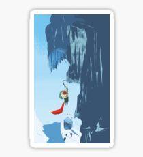 Ice climber Sticker