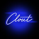 Neon Clout in Blue - Crips - Crip - Brip by Wave Lords United