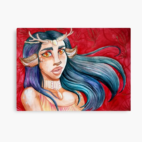 Faun With The Wind Canvas Print
