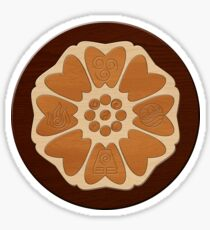Order of the White Lotus Sticker