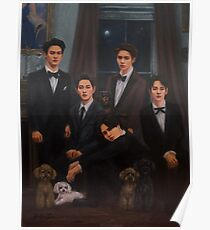 SHINee Family Portrait Poster