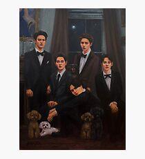 SHINee Family Portrait Photographic Print