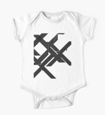 abstract x cross One Piece - Short Sleeve