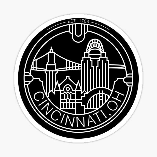 Cincinnati, Ohio Sticker