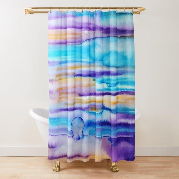 Tourmaline Shower Curtain