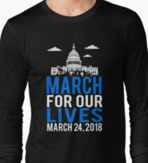 March For Our Lives 2018 Long Sleeve T-Shirt