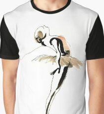 Ballet Dance Drawing Graphic T-Shirt