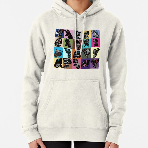 Princess Inspirational Quote Collage Pullover Hoodie