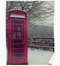 Telephone box Poster