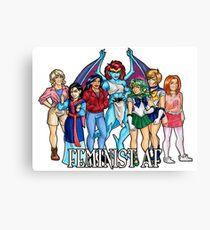 Feminist AF Canvas Print