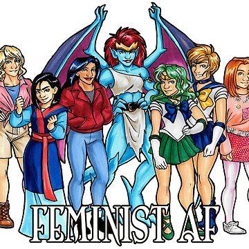 Feminist AF by gillyperkygoth