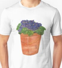 Watercolour flowers Unisex T-Shirt