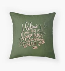 Let The Flames Begin Throw Pillow