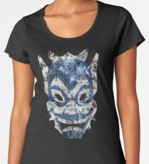 Blue Spirit Splatter Women's Premium T-Shirt