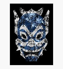 Blue Spirit Splatter Photographic Print