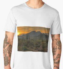 Desert Sunrise Men's Premium T-Shirt