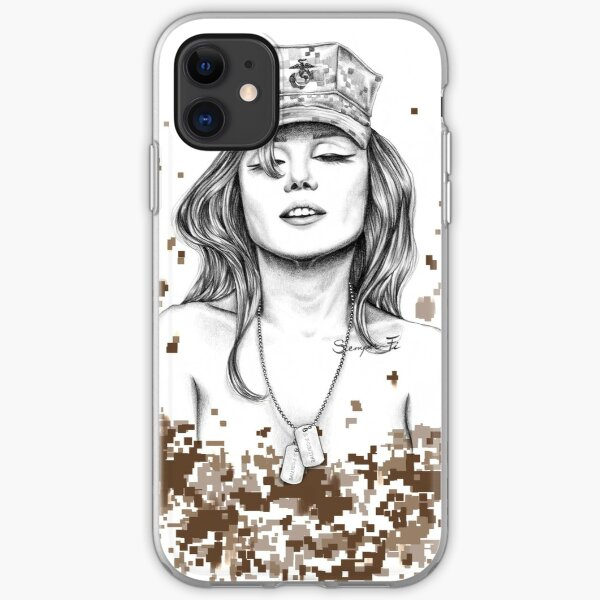 Semper Fi iPhone Soft Case