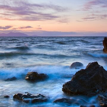 Arran Sunset from Maidens by Sumosan