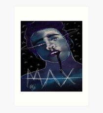 SAY MAX Art Print