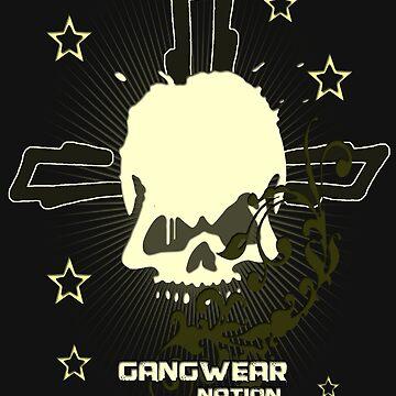 Gangwear Nation - Skull Design by lemmy666