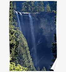 Vernal falls in late summer Poster