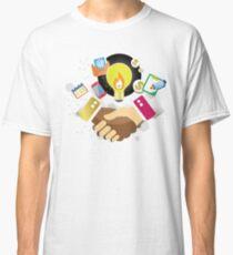 T-Shirt Partnership Breaks Prejudice Classic T-Shirt