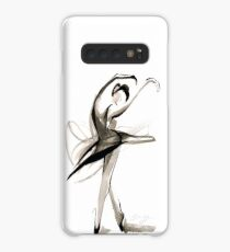 Expressive Watercolor Dance Drawing Case/Skin for Samsung Galaxy