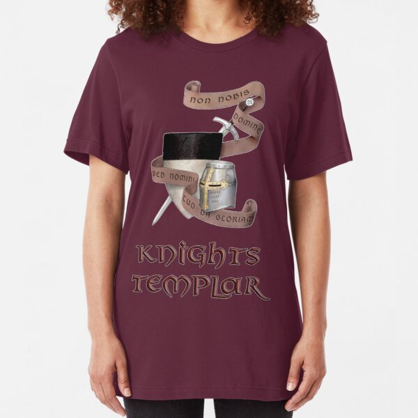 Non Nobis Domine Slim Fit T-Shirt