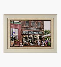 """Burrville Antiques"" ... with a matted and framed presentation, for prints and products Photographic Print"