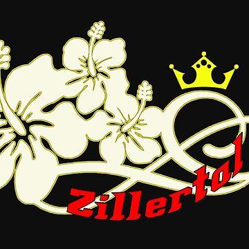 Zillertal - Tyrol - Austria - Austria - Flower Design by lemmy666