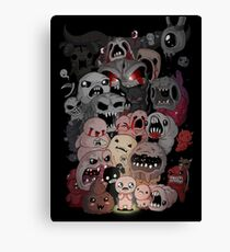 Binding of isaac fan art Canvas Print