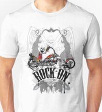 Skulls Rock On Rock Music T-Shirt Unisex T-Shirt