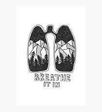 Breathe It In Photographic Print