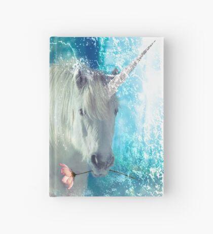 Grumpy Fairy with Unicorn Hardcover Journal