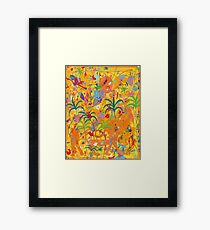 Cats' Love Framed Print