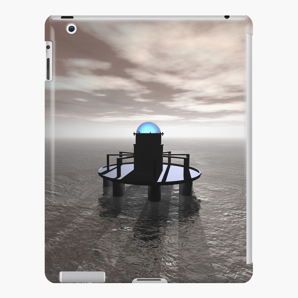 Structure In Ice At Dawn iPad Case & Skin