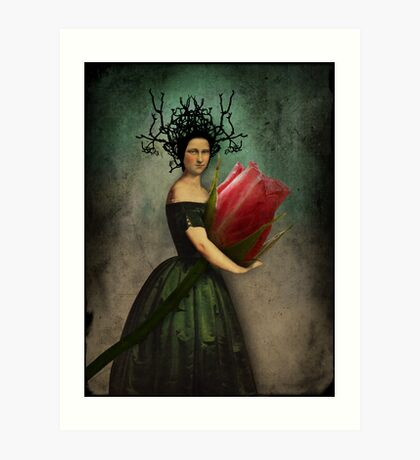Mona's rose Art Print