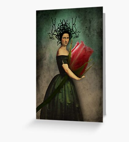 Mona's rose Greeting Card