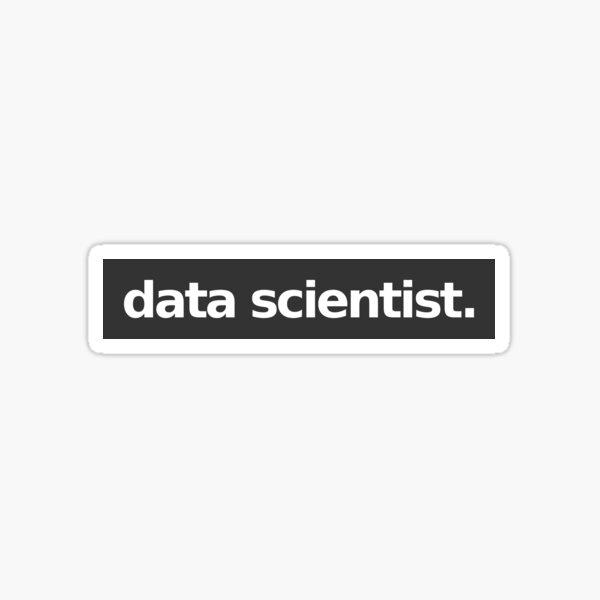 Data Scientist - Gray Sticker