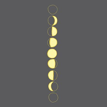 Moon Phases by TPdesigns