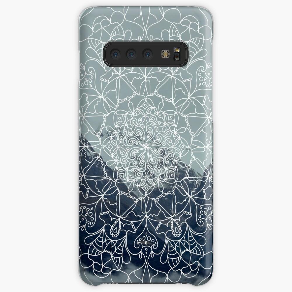 Berg Mandala Hülle & Klebefolie für Samsung Galaxy