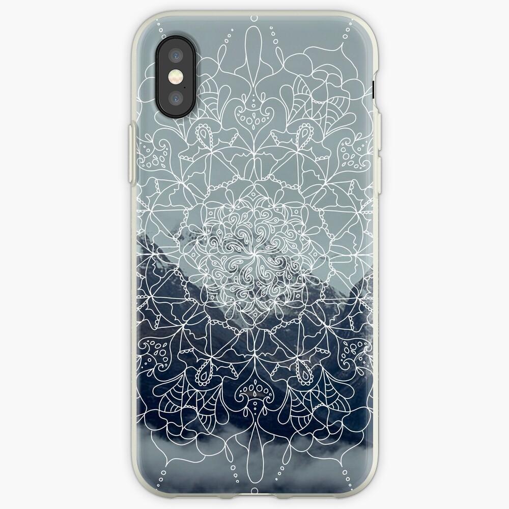 Berg Mandala iPhone-Hüllen & Cover
