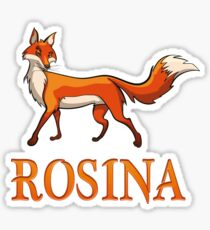 Rosina Fox Sticker