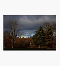 Donnington Castle - stormy Photographic Print